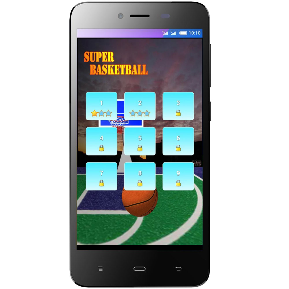 Super Baskeball - Android運動遊戲